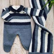 Saida de Maternidade Vicente - Jeans (COLEÇÃO OUTONO 2021)