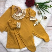 Saída de Maternidade Viena  - Mostarda