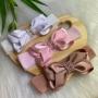 Faixinha Encanto Strass - ( Branco / Rosa / Rosê )