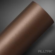 Adesivo Envelopamento Brown Jateado 0,10x1,38cm - Alltak