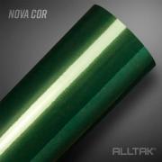 Adesivo Envelopamento Green Araucaria Metallic Ultra 0,10x1,38cm - Alltak