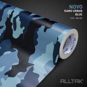 Adesivo Envelopamento Kamo Urban Blue 0,15x1,38cm - Alltak