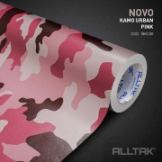 Adesivo Envelopamento Kamo Urban Pink 0,15x1,38cm - Alltak