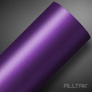 Adesivo Envelopamento Purple Metallic Jateado 0,10x1,38cm - Alltak