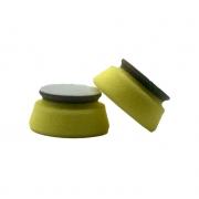Boina de Polimento Corte Médio Amarela/Cinza 1,5' - Toolsystem