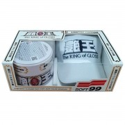 Cera King Of Gloss White Cleaner 320g C/ Boné Limited Edition - Soft99