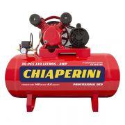 Compressor de Ar Média Pressão 10 Pcm 110 Litros – Chiaperini 10/110 RED