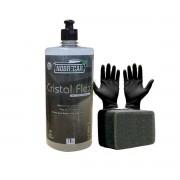Cristal Flex ( Removedor de manchas ácidas dos vidros ) 1L - Nobrecar