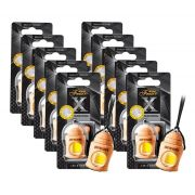 Kit 10 Aromatizante Para Carros Areon Fresco Black Crystal