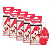 Kit 5 Aromatizante Seco Apple & Cinnamon- Areon