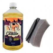 Pretinho Baba De Camelo 1l Para Pneu + Aplicador De Brinde