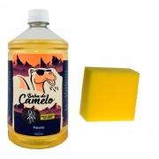 Pretinho Baba De Camelo 1l Para Pneu + Brinde Esponja