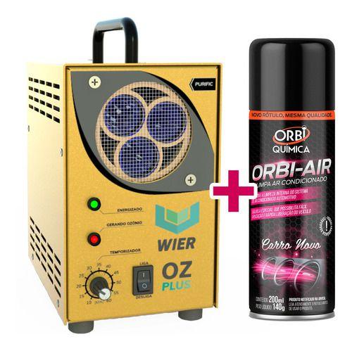 Máquina De Oxi Sanitização Oz Plus - Wier + Brinde