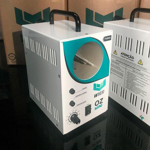 Máquina De Oxi Sanitização Oz Mini - Wier + Limpa Ar