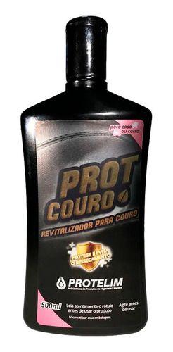 Kit Prot Couro Protelim + Pincéis Roma + Aplicador de Cera