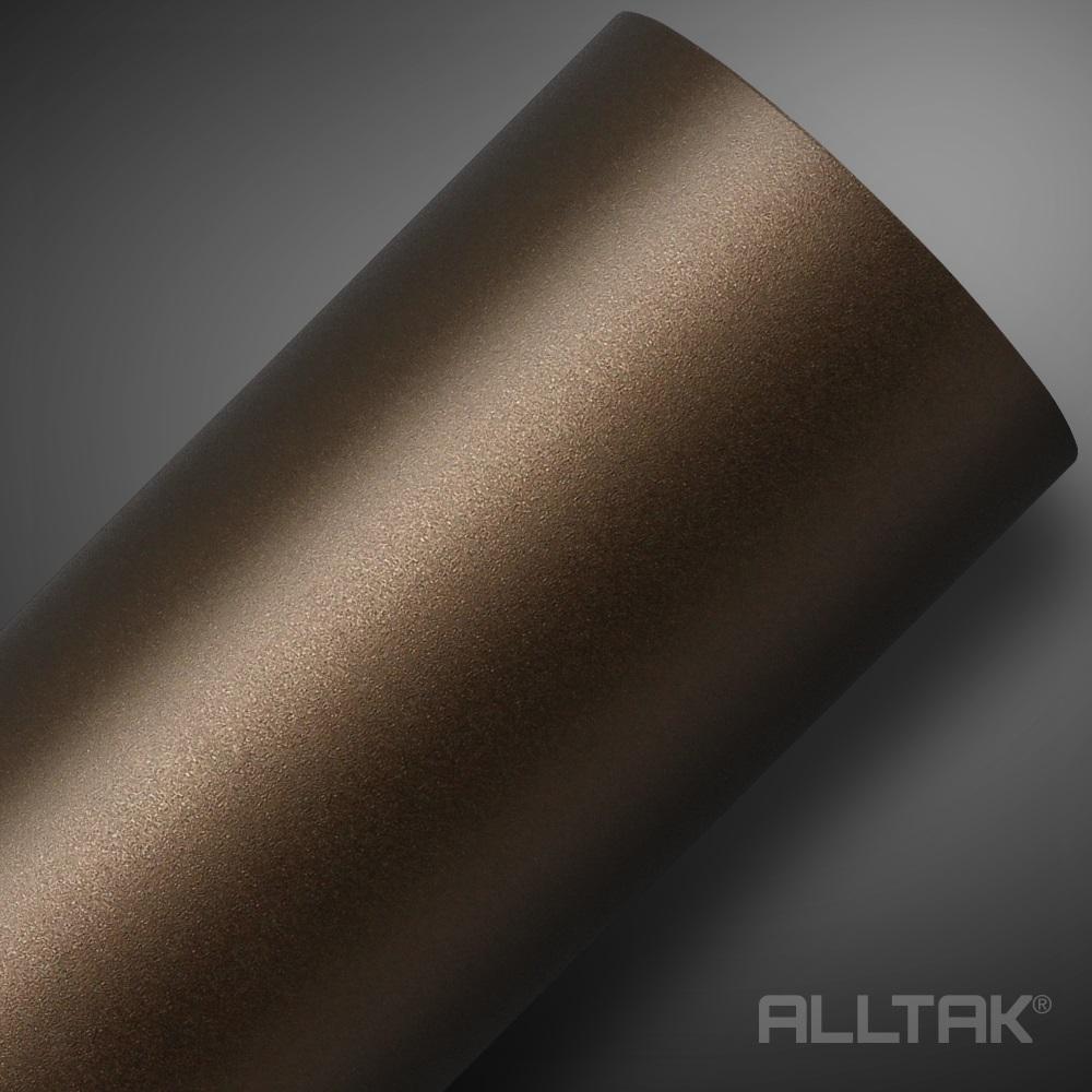 Adesivo Envelopamento Brown Metallic Jateado 0,10x1,38cm - Alltak