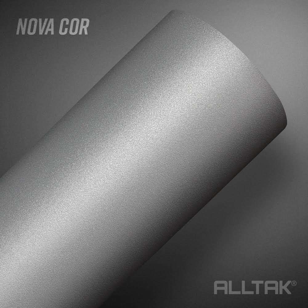 Adesivo Envelopamento Gray Nardo Jateado 0,10x1,38cm - Alltak