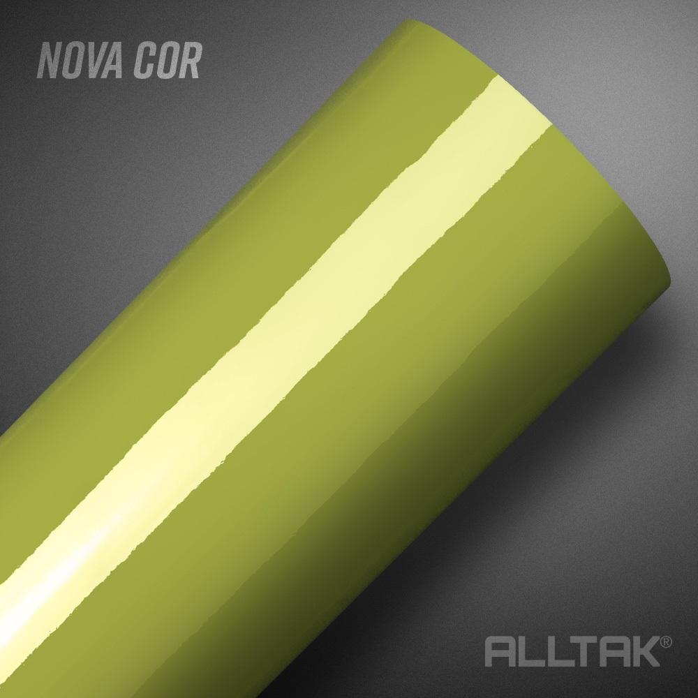Adesivo Envelopamento Green Garapa Ultra 0,10x1,38cm - Alltak