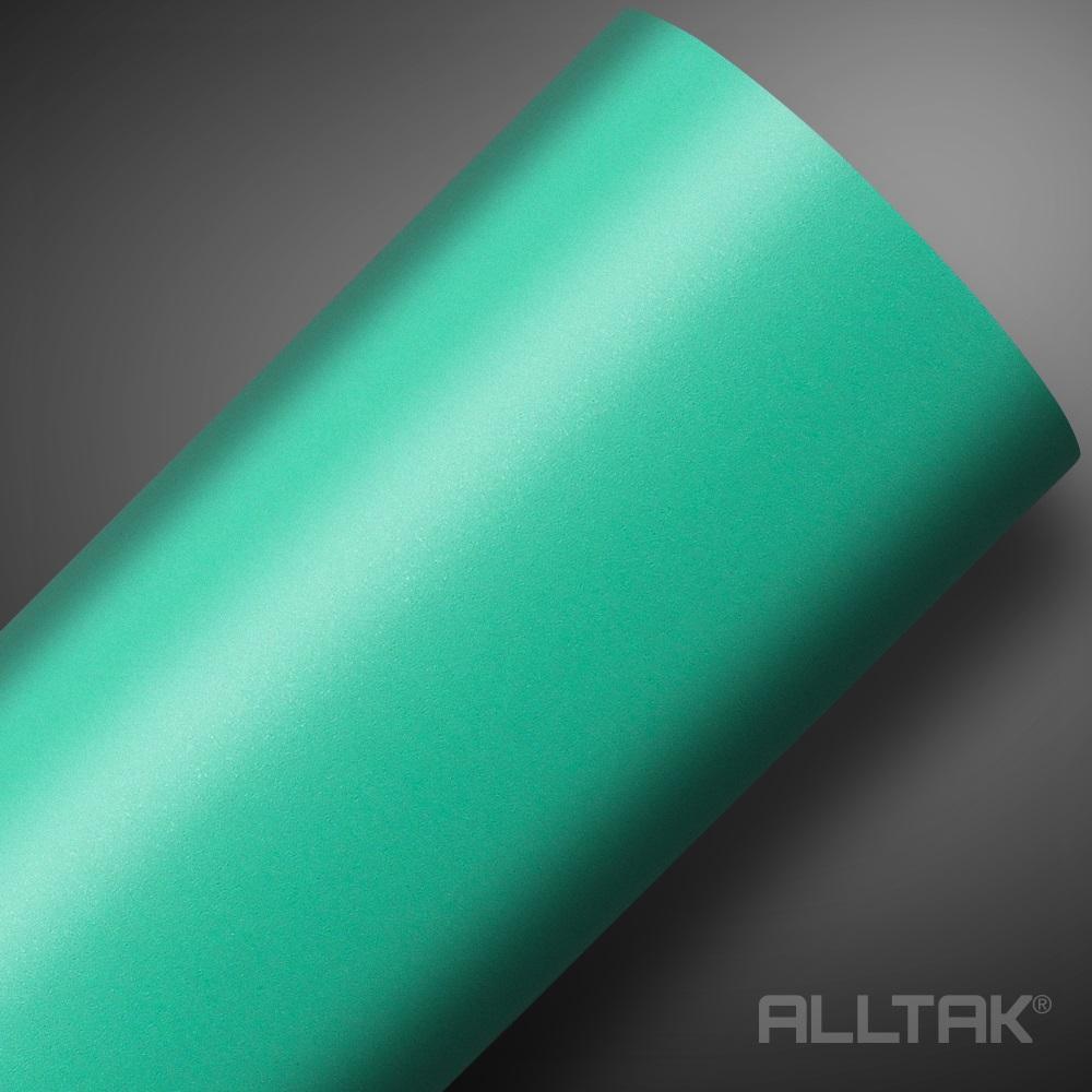 Adesivo Envelopamento Green Mint Jateado 0,10x1,38cm - Alltak