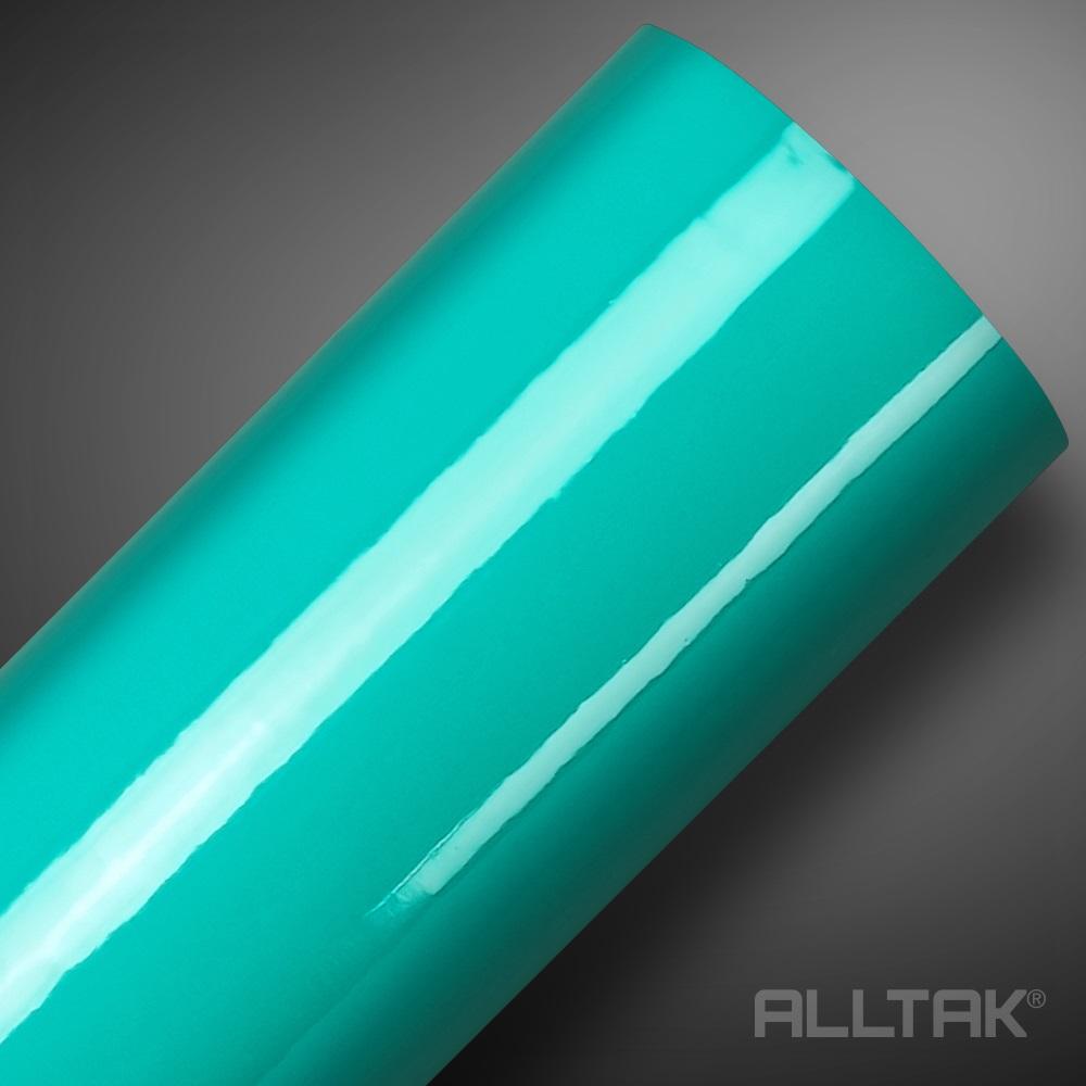 Adesivo Envelopamento Green Turquoise Ultra 0,10x1,38cm - Alltak