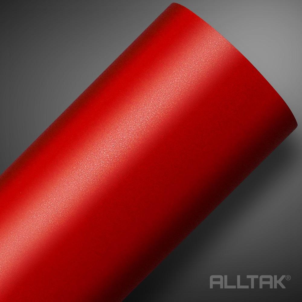 Adesivo Envelopamento Red Jateado 0,10x1,38cm - Alltak