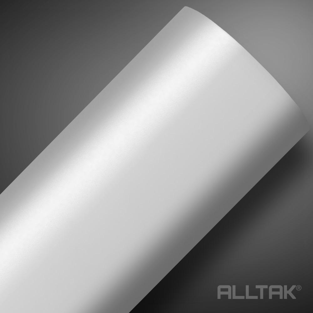 Adesivo Envelopamento White Satin 0,08x1,38cm - Alltak