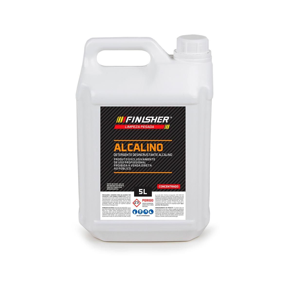 Alcalino 5L (Detergente Desincrustante) - Finisher