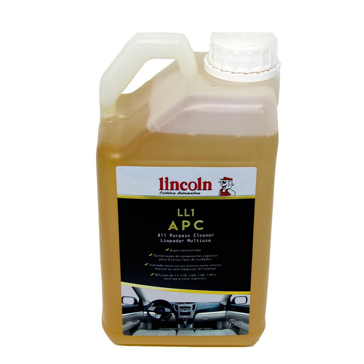 APC Limpador Multiuso LL1 3,6L - Lincoln