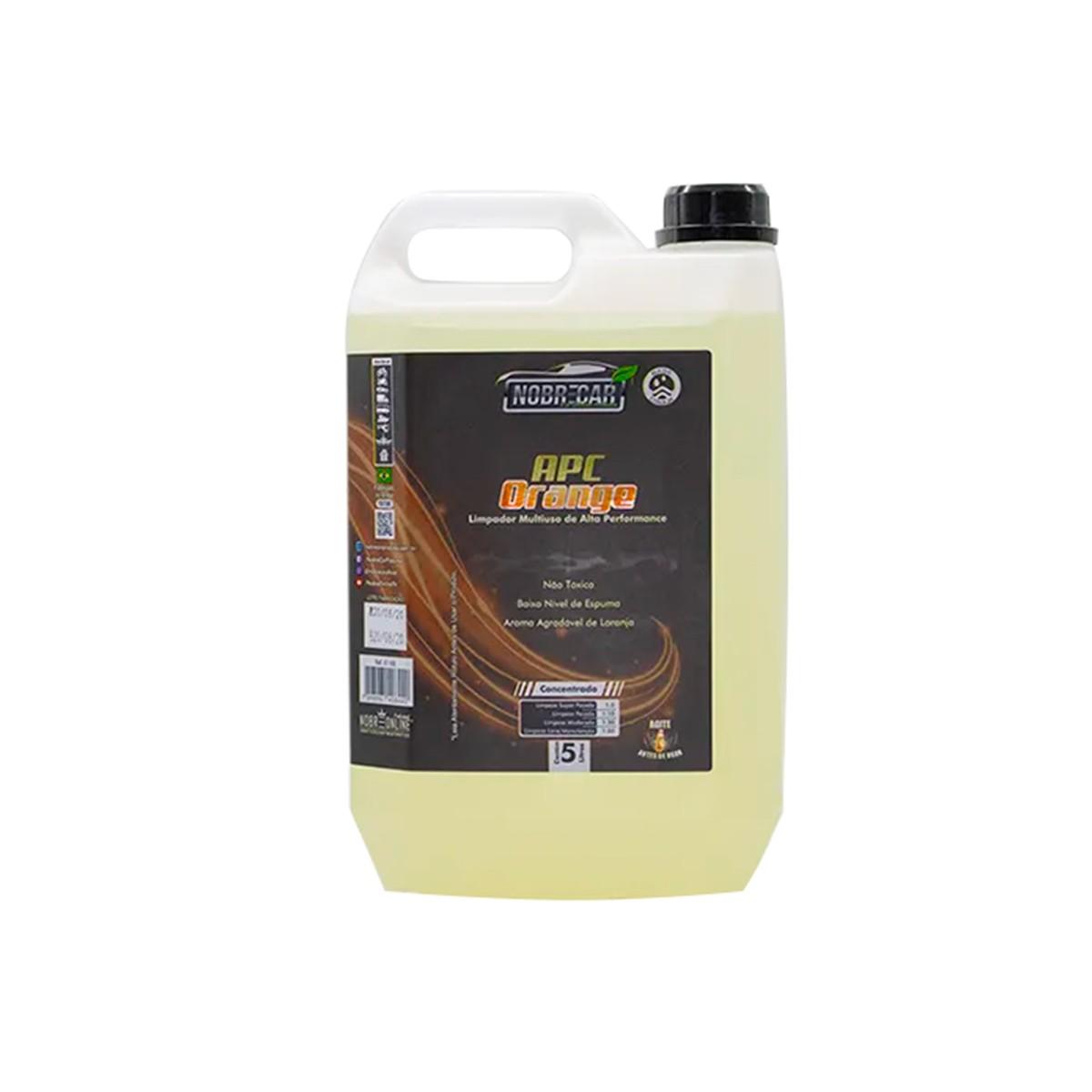 APC Orange - Limpador de Interiores de Alta Performance - Nobrecar