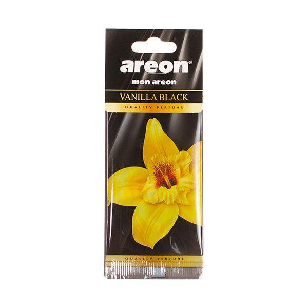 Aromatizante Mon Areon - Vanilla Black (Baunilha)