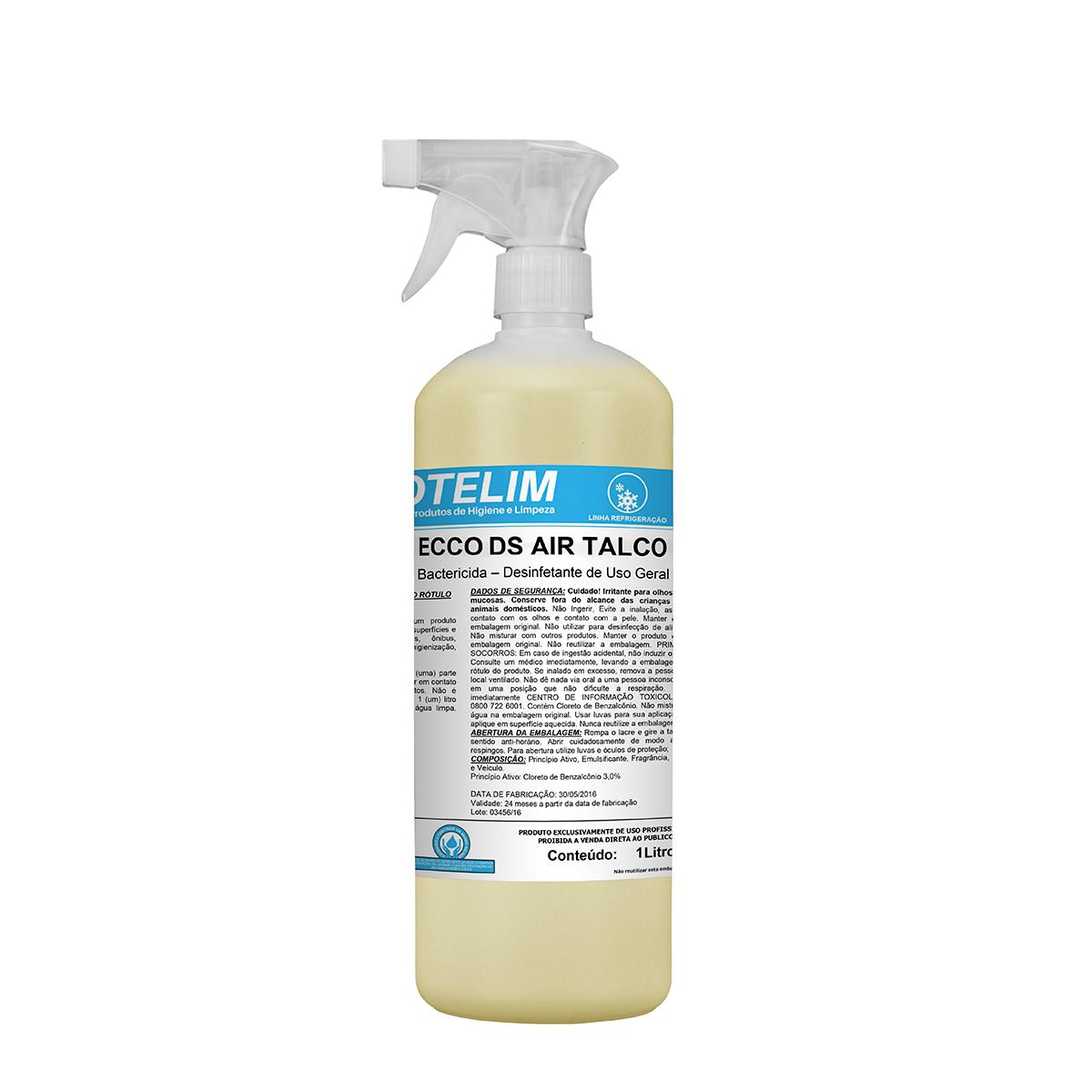 Bactericida Prot Ecco DS Air Talco 1L - Protelim