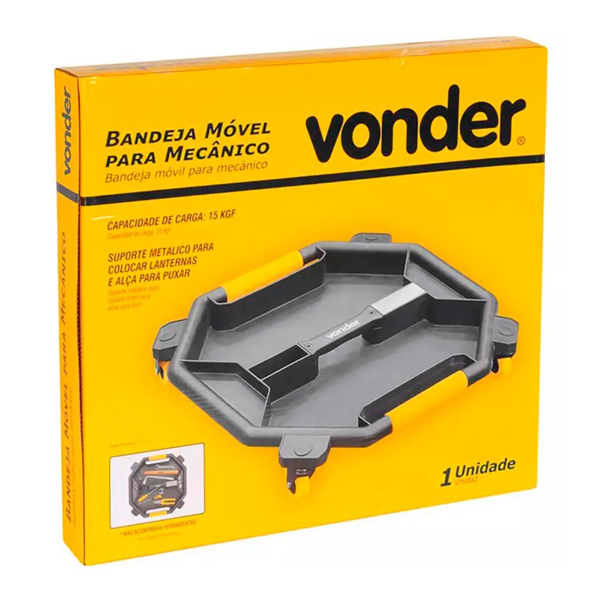 Bandeja Móvel Para Mecânico - Vonder
