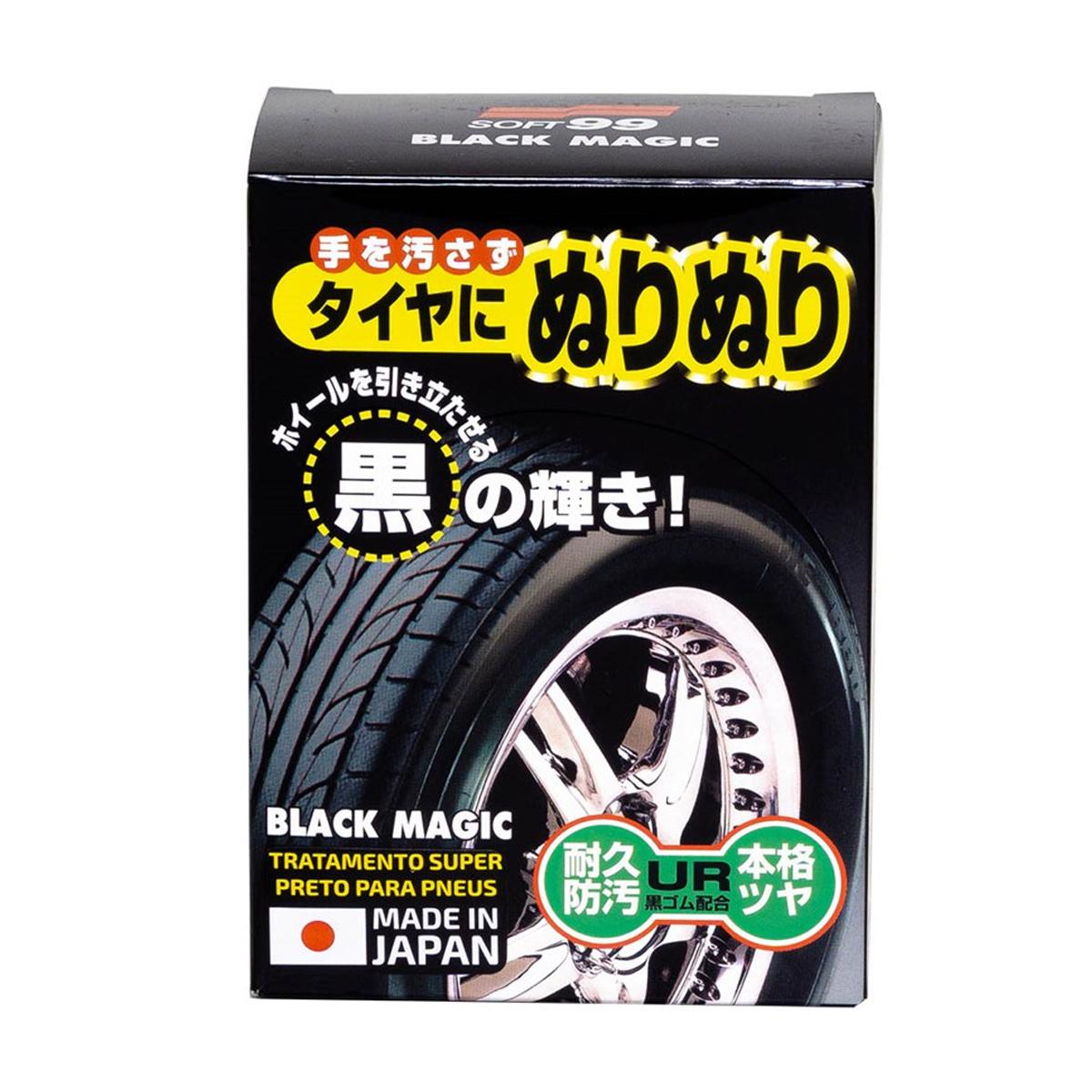 Black Magic Tratamento Super Preto Para Pneus 150ml - Soft99