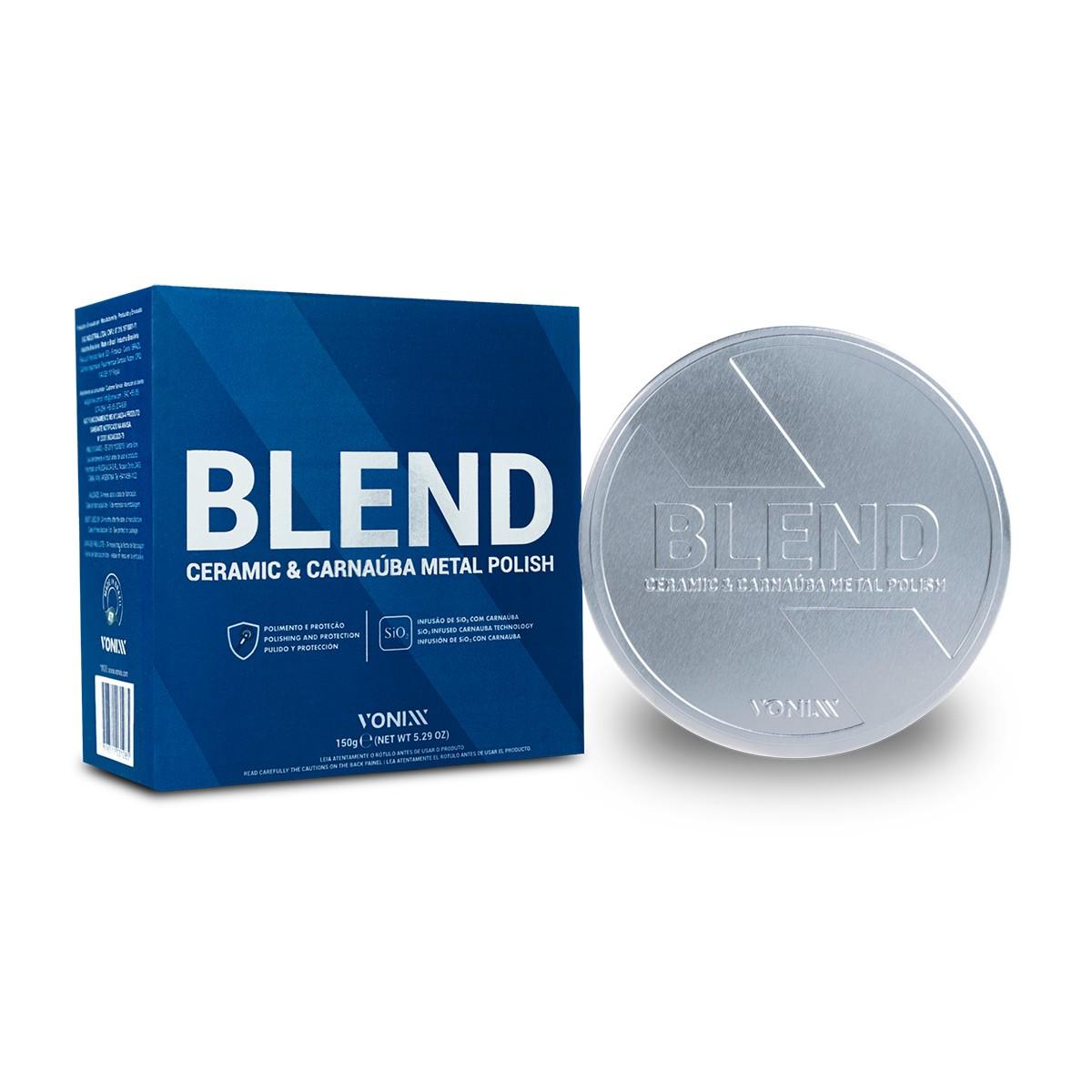 Blend Ceramic & Carnaúba Metal Polish 150g - Vonixx