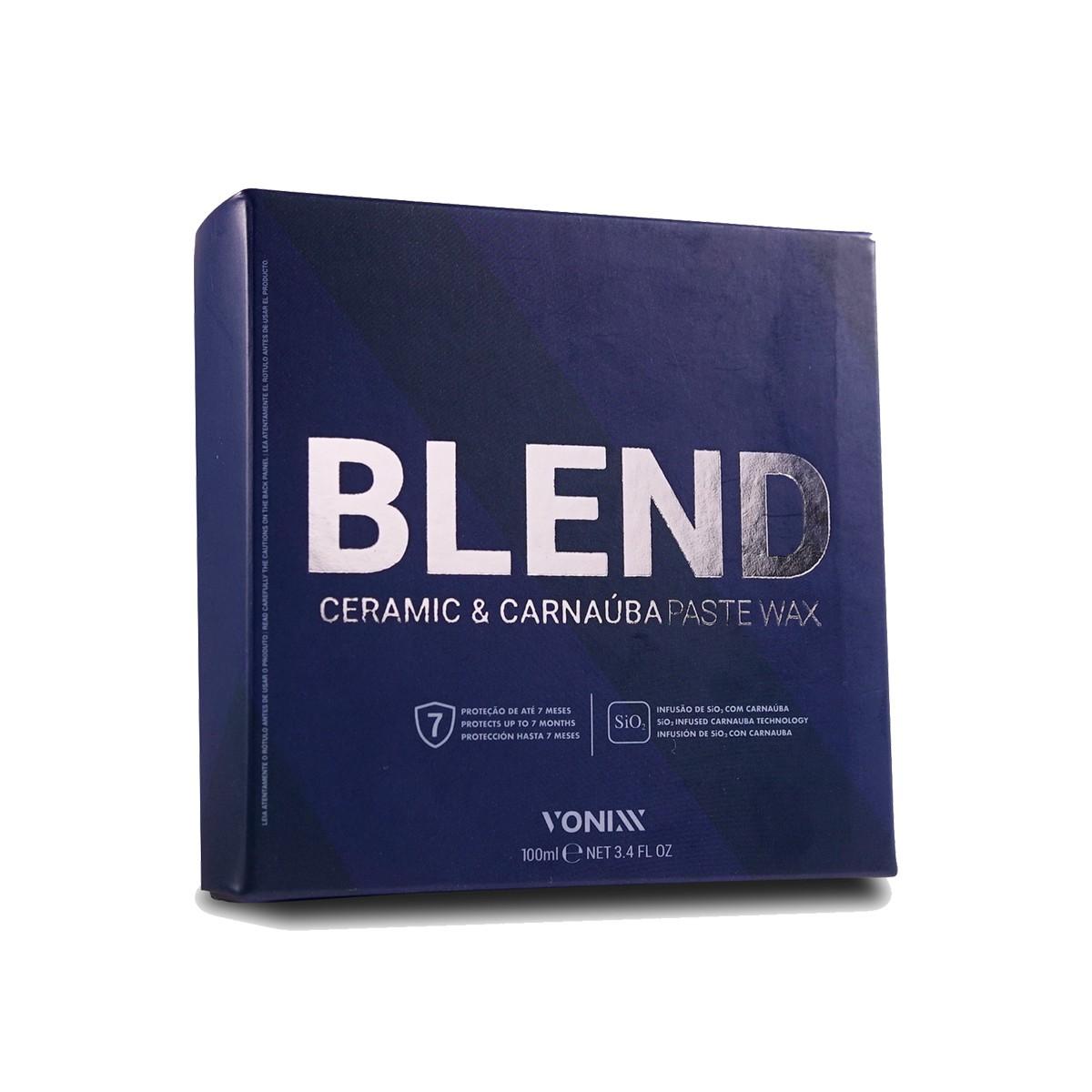 Blend Ceramic & Carnaúba Paste Wax ( Cera em Pasta com SI02 & Carnaúba) - Vonixx