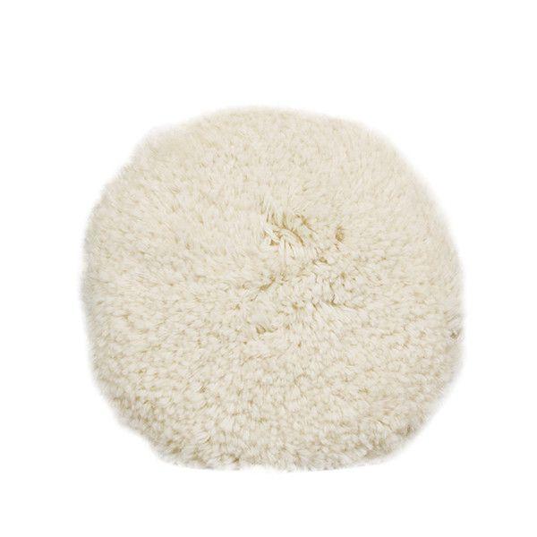 Boina Dupla Face Normal para Polimento - Branca