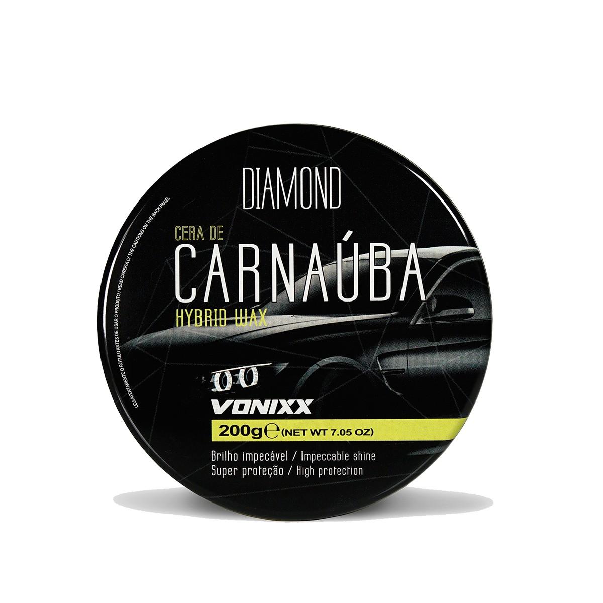 Carnaúba Hybrid Wax 200g - Vonixx