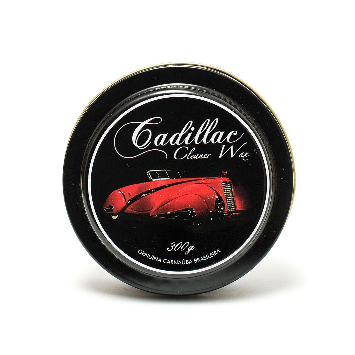 Cera de Carnaúba Cleaner Wax - Cadillac 300gr
