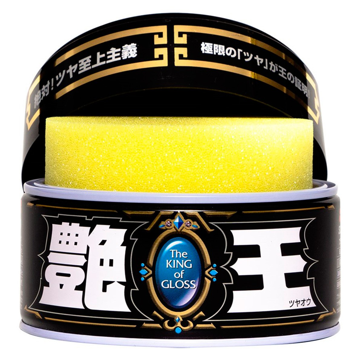 Cera King Of Gloss Black 300g C/ Boné Limited Edition - Soft99