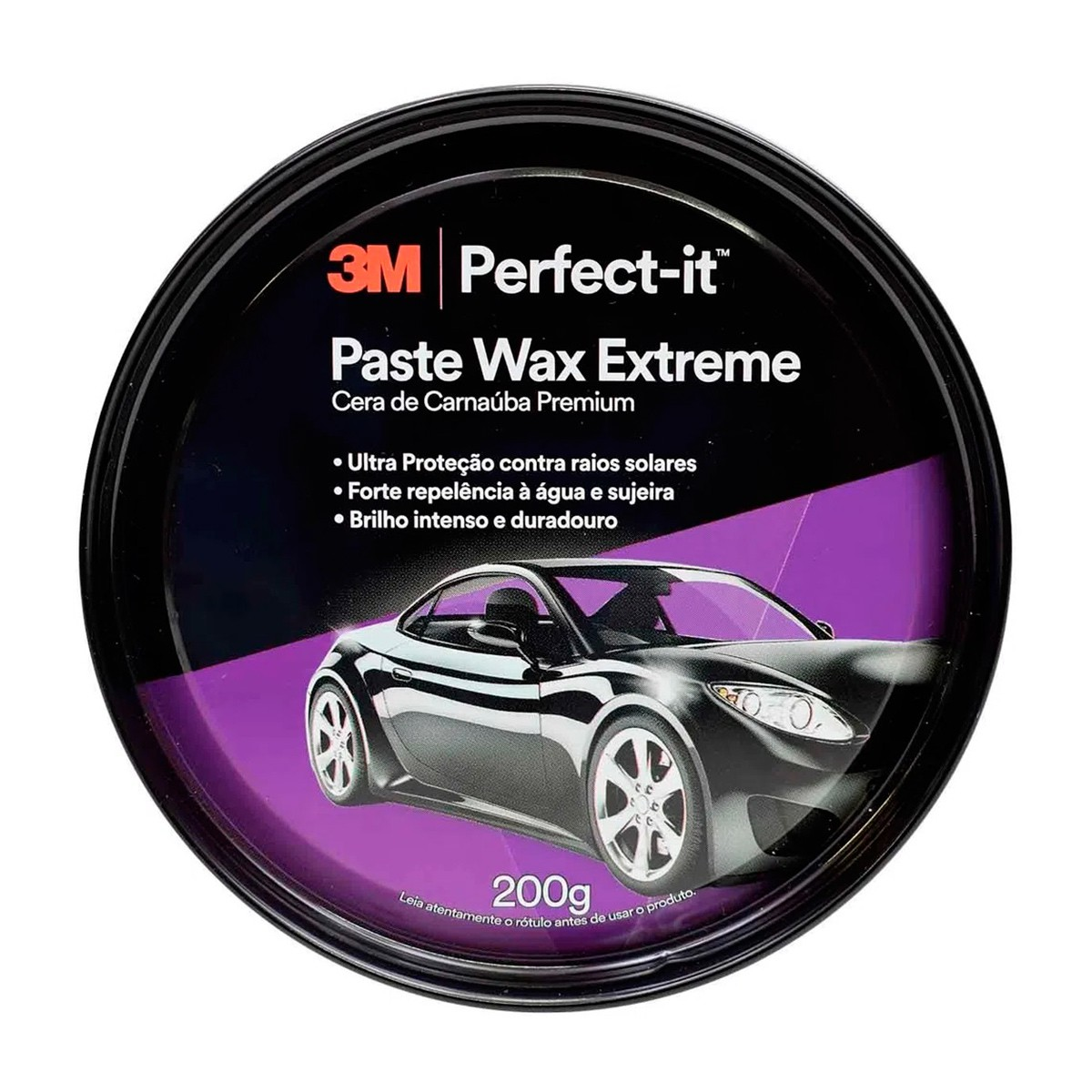 Cera Paste Wax Extreme Carnaúba Premium 200g - 3M