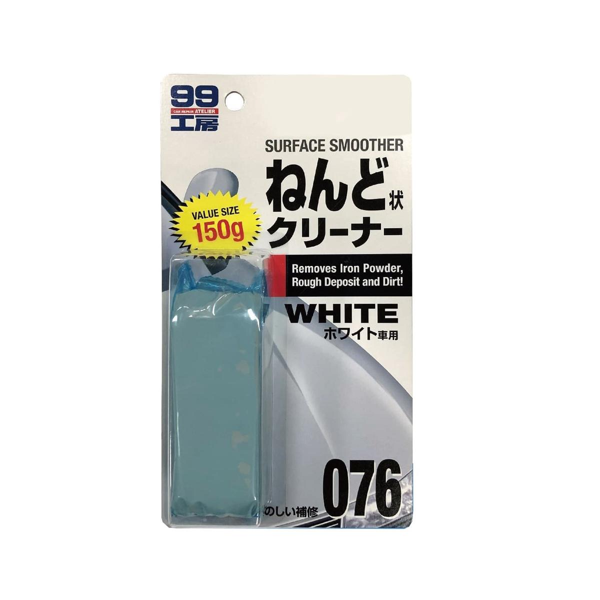 Clay Bar White Alta Abrasividade 150g (076) - Soft99
