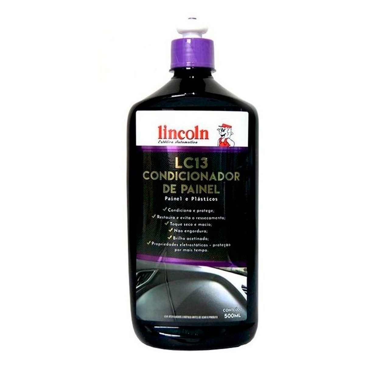 Condicionador de Plásticos Externos LC13A 500ml - Lincoln