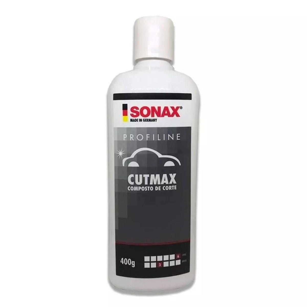 Cutmax Composto de Corte 400ml - Sonax