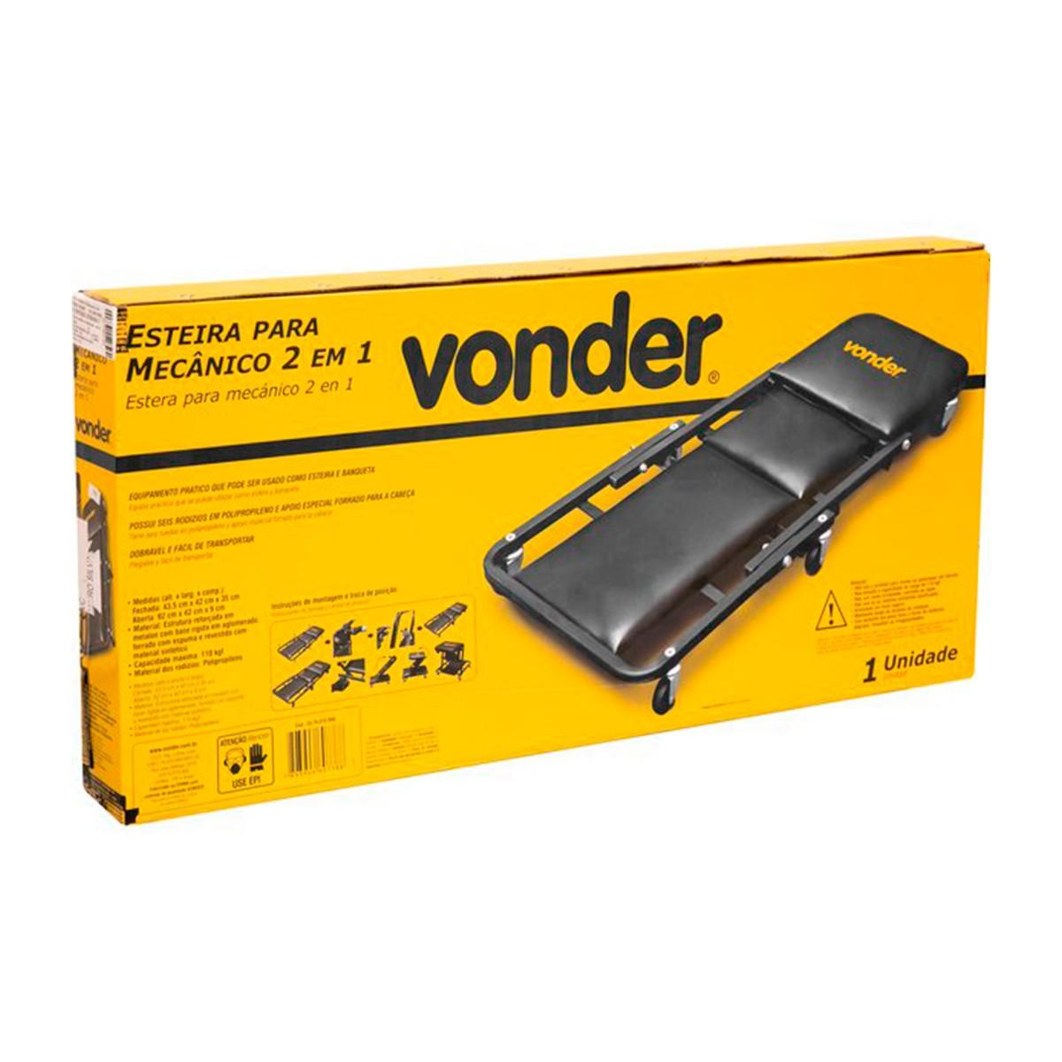 Esteira Para Mecânico 2 em1 - Vonder