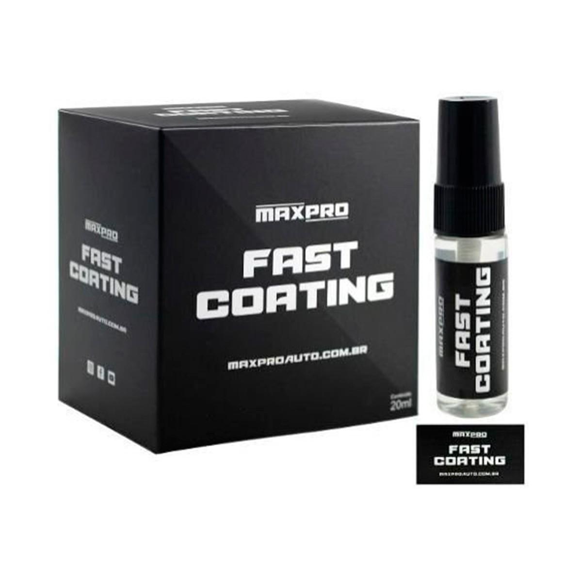 Fast Coating Vitrificador 20ml - Maxpro