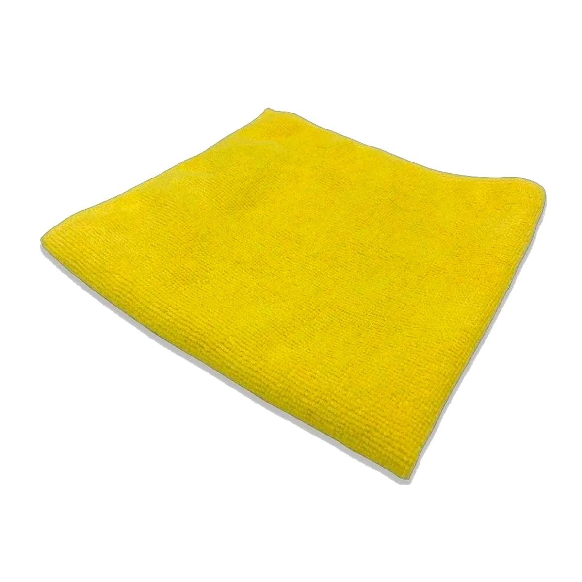 Flanela de Microfibra 37x57 330gsm Amarelo - Detailer