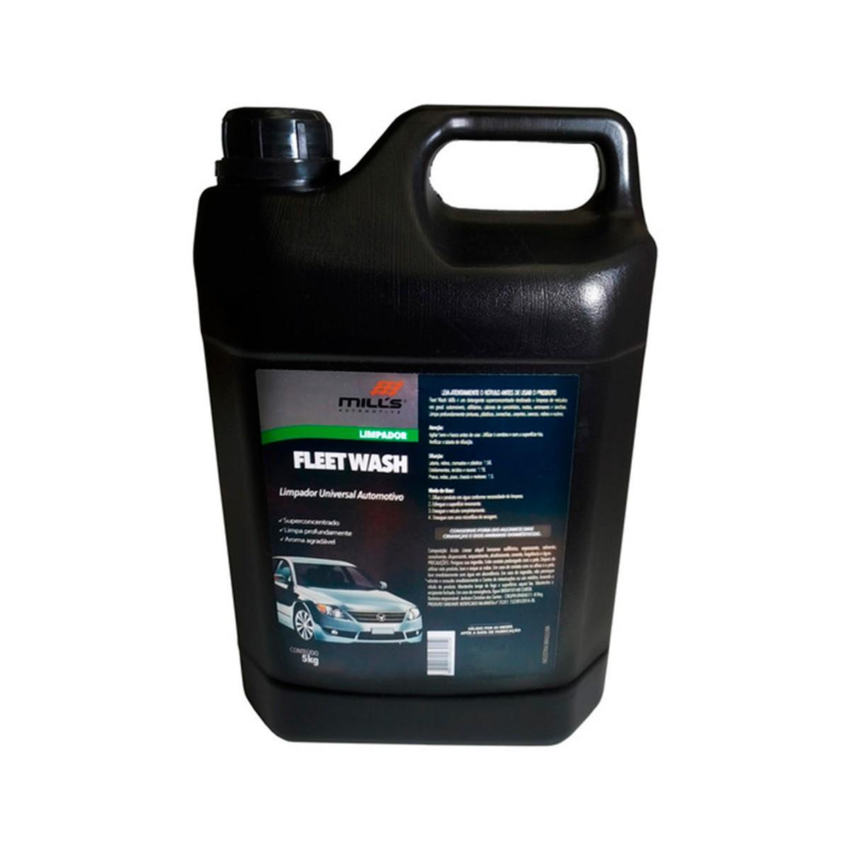 Fleet Wash ( Detergente Limpador Concentrado) 5kg - Mills