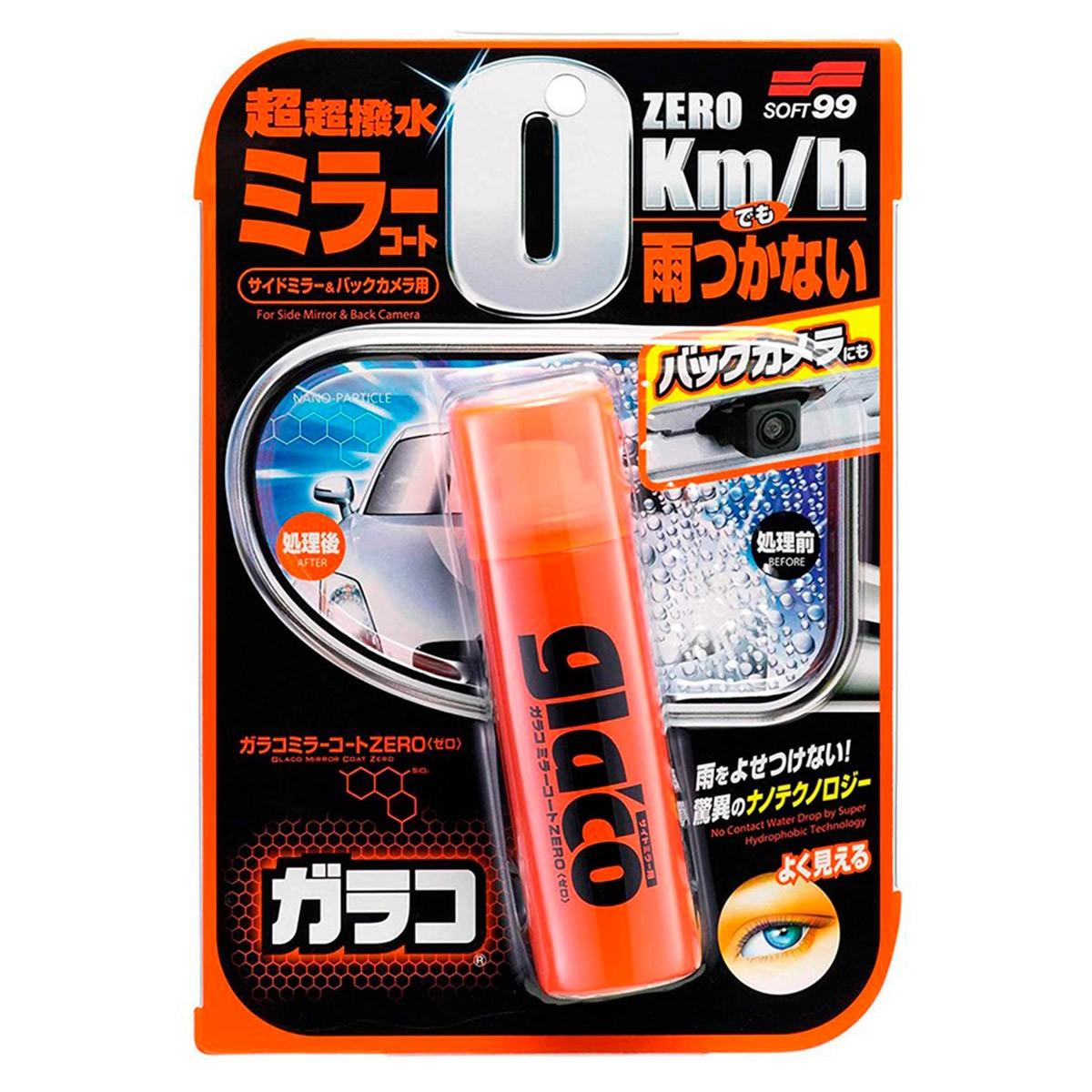 Glaco Zero Spray para Retrovisores 80ml - Soft99