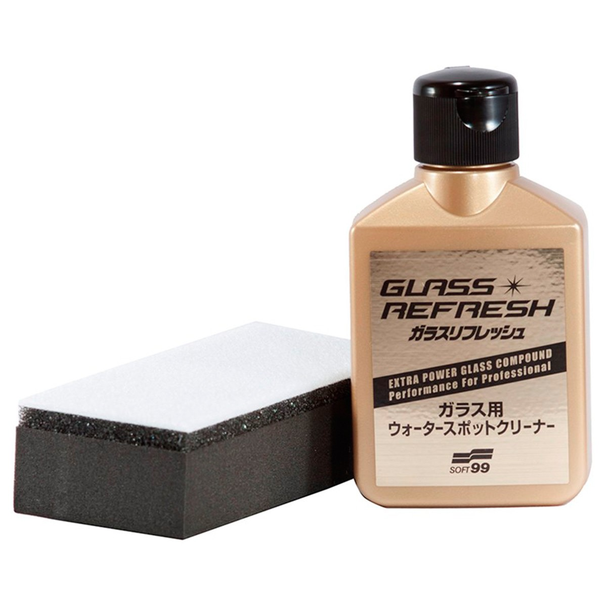 Glass Refresh Removedor de Manchas de Vidro 80ml - Soft99