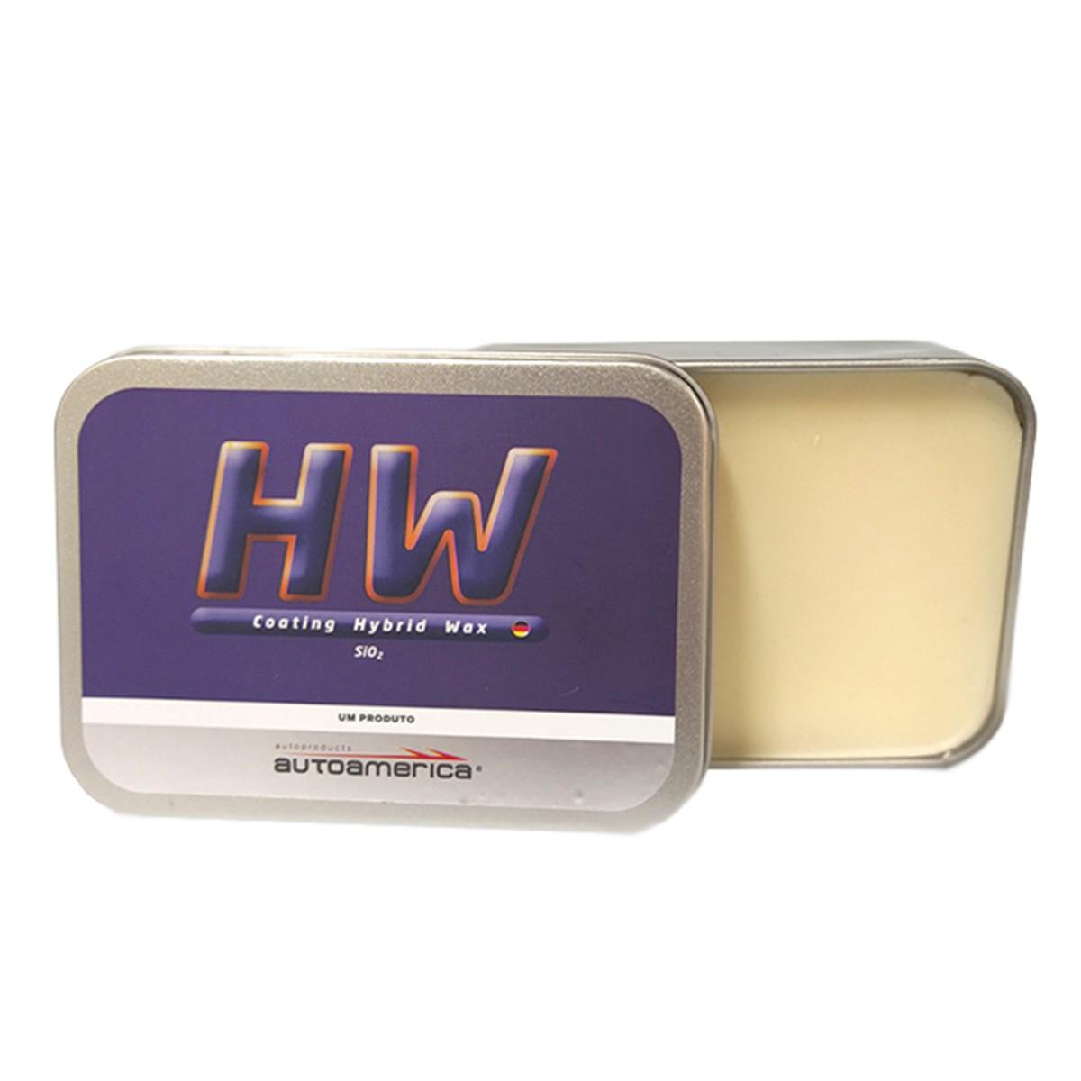 HW Coating Hybrid Wax 120g - Sio2 - Autoamerica